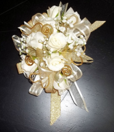 Golden Lady Prom Corsage