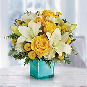 Golden Laughter Bouquet Summer Arrangements in Las Vegas, NV | All In Bloom