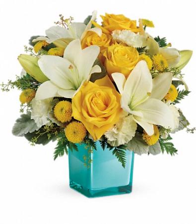 Golden Laughter Bouquet Teleflora