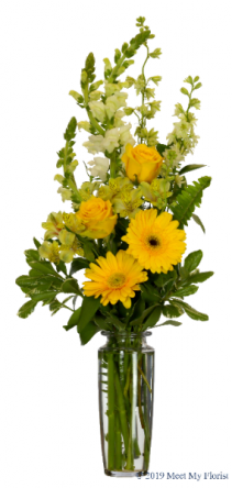 Golden Medley  Bouquet