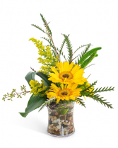 Golden Morning Arrangement
