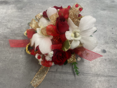 GOLDEN ORCHID PROM CORSAGE