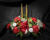 Golden Pines Centrepiece Designer's Choice Christmas Arrangement