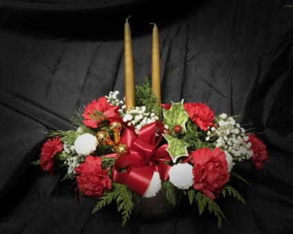 Golden Pines Centrepiece Designer's Choice Christmas Arrangement