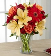 Golden Roads Fall Arrangement