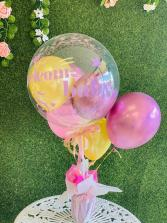 Golden Rose Balloon
