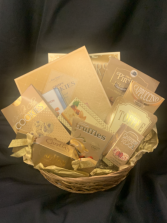 Golden Snacker Gourmet Basket