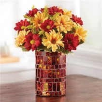 Golden Sunset Fall Arrangement