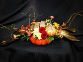 Golden Willow Thanksgiving  Center Piece