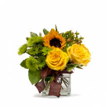 Golden Woodland Arrangement