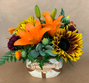 Gone Fishin' Bouquet in Moses Lake, WA | FLORAL OCCASIONS