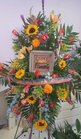 Gone Fishing  funeral