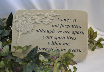GONE YET NOT FORGOTTEN - STONE SYMPATHY STONE -