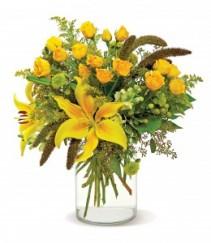 Good as Gold Citrus-hued blossoms
