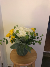 Good Day Bouquet vase arrangement