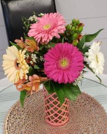 Good Day Sunshine Vased Arrangement