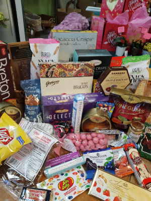 Good Goodies in a Basket Gift Baskets in Halifax, NS   BLOSSOM SHOP HALIFAX