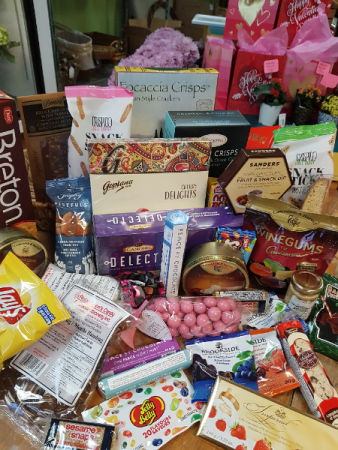 Good Goodies in a Basket Gift Baskets