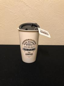 Good Morning World... Ceramic Travel Mug