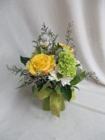 Good Vibes Fresh Vased Arrangement