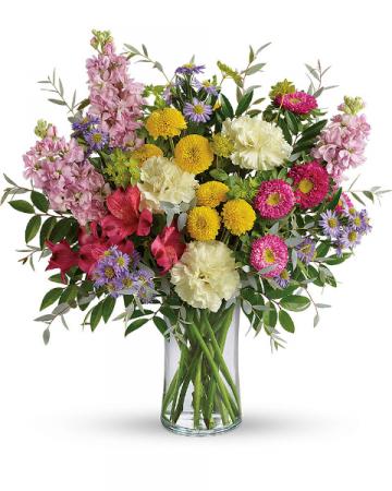 Goodness And Light Flower Arrangement