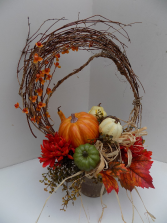 Gord-eous Fall Silk Arrangement