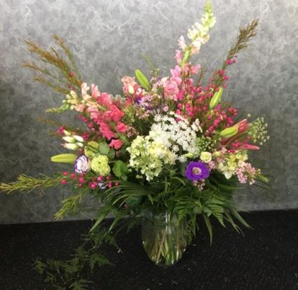 Gorgeous Garden Vase Arrangement