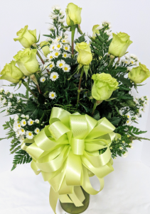 Gorgeous Green Roses
