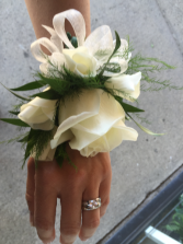 perfect night out  Prom corsage