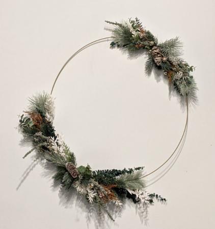 Gorgeous Winter Wreath
