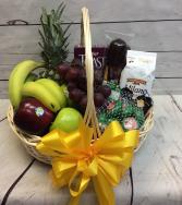 Gourmet Fruit & Cheese Basket