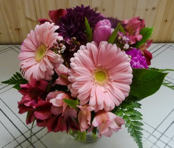 Gotta Hand It To You Vase Arrangement