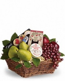 Gourmet and Fruit Basket