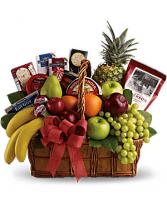 Gourmet And Fruit Basket Gift Basket