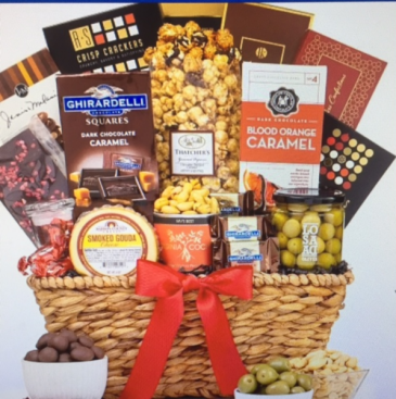 Gourmet Collection Basket non perishable basket