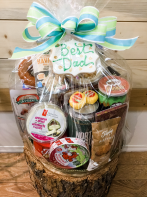 Gourmet Basket for Fathers Day  in Osoyoos, BC | POLKA DOT DOOR