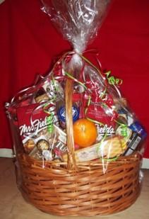Gourmet Basket You Determine Size