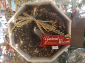 Gourmet Birdseed Wreath Christmas