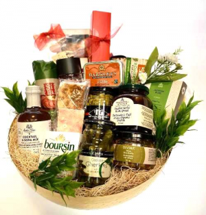 Gourmet Bounty Gift Basket in Invermere, BC | INSPIRE FLORAL BOUTIQUE