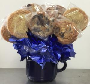 Gourmet Cookie Bouquet NEW!!  Soft, Thick and Chewy!   in Springfield, IL | FLOWERS BY MARY LOU