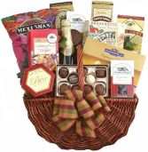 GOURMET DELIGHT APPRECIATION GIFT BASKET
