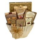Gourmet Elegance Gift Baskets in Port Dover, ON | Upsy Daisy Floral Studio