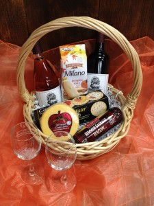 Gourmet Food/Wine Basket  in Montrose, CO | ALPINE FLORAL, INC.