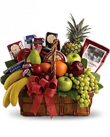 Gourmet & Fruit Basket