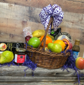 Gourmet Fruit Basket Food Basket
