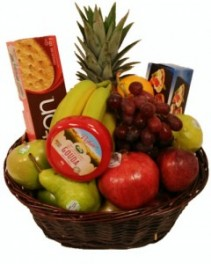GOURMET FRUIT BASKET Holiday, Fruit Basket, Gift Basket