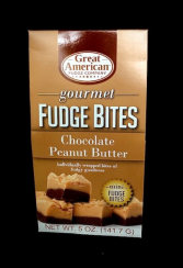 Gourmet Fudge Chocolate Peanut Butter