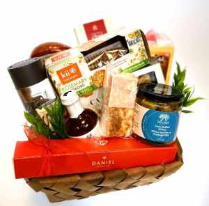 Gourmet Gathering Gift Basket in Invermere, BC | INSPIRE FLORAL BOUTIQUE