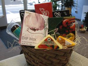 Gourmet Gift Basket Snack Variety in Milan, IL | MILAN FLOWER SHOP