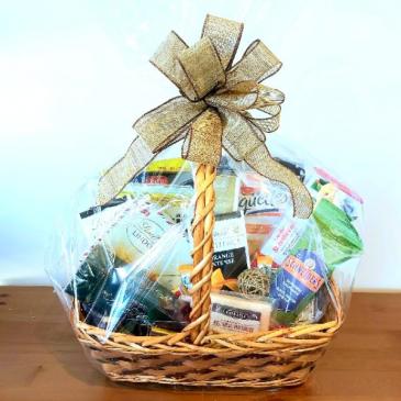 Gourmet Holiday Christmas Basket
